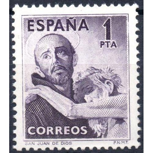 Spain Stamps Year 1950