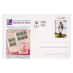 Entero Postal nº 10 - Filatelia 2002