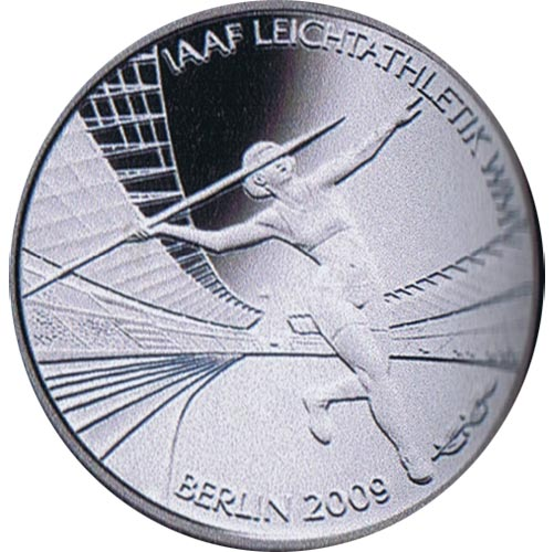 moneda Alemania 10 Euros 2009 Berlin 09.