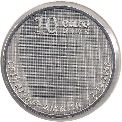 Holanda 10 Euros 2004 birth of Princess Catharina-Amalia