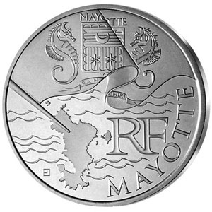 Francia 10 € 2011 Euros des Regions (Mayotte).