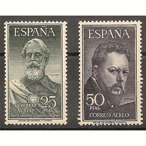 Spain stamps Year 1953
