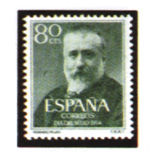Spain stamps Year 1954
