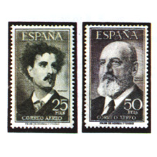 Spain stamps Year 1955