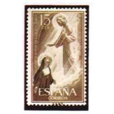 Spain stamps Year 1957