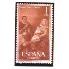 Spain stamps Year 1960