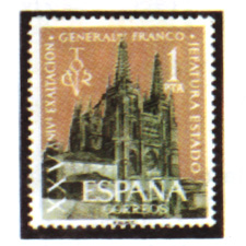 Spain stamps Year 1961
