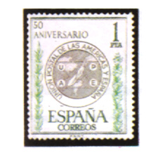 Spain stamps Year 1962