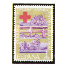 Spain stamps Year 1963