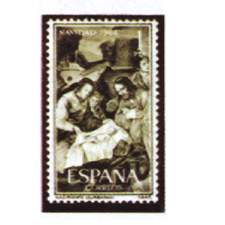 Spain stamps Year 1964