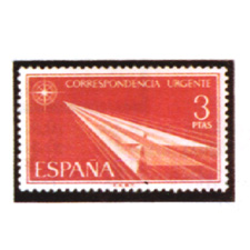 Spain stamps Year 1965