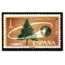 Spain stamps Year 1966