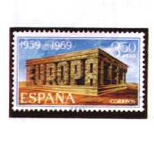 Spain stamps Year 1969