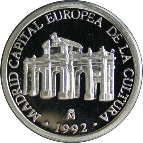 1 ECU. Madrid Capital Europea de la Cultura (1992)