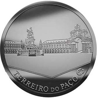 Portugal 2.5 Euros 2010 Terreiro do Paço.