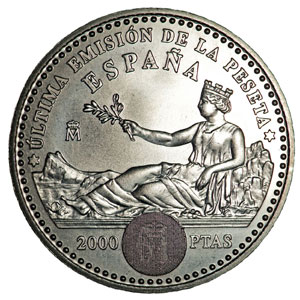 Monedas De 2000 Pesetas En Plata Tienda Numismatica Y Filatelia Lopez Compra Venta De Monedas Oro Y Plata Sellos Espa A Accesorios Leuchtturm