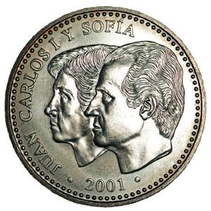Moneda Conmemorativa 2000 Ptas 2001 Plata Tienda Numismatica Y Filatelia Lopez Compra Venta De Monedas Oro Y Plata Sellos Espa A Accesorios Leuchtturm