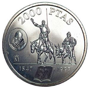 Moneda Conmemorativa 2000 Ptas 1997 Plata Tienda Numismatica Y Filatelia Lopez Compra Venta De Monedas Oro Y Plata Sellos Espa A Accesorios Leuchtturm