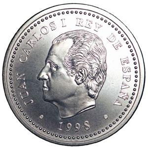 Moneda Conmemorativa 2000 Ptas 1998 Plata Tienda Numismatica Y Filatelia Lopez Compra Venta De Monedas Oro Y Plata Sellos Espa A Accesorios Leuchtturm