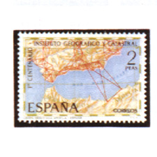 Spain stamps Year 1970