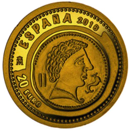 Moneda 2016 Joyas Numismaticas As Clounioq. 20 euros oro