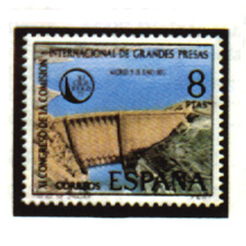 Spain stamps Year 1973