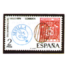 Spain stamps Year 1974
