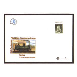 Sobre entero postal 022 iberoamericana gijon 1994 tienda for Oficina correos gijon