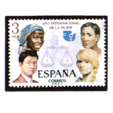 Spain stamps Year 1975