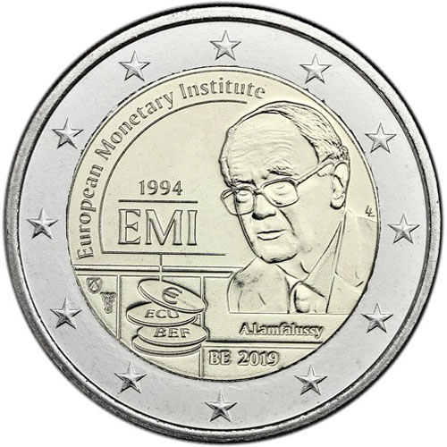 3d01bd110fed moneda conmemorativa 2 euros Belgica 2019 EMI