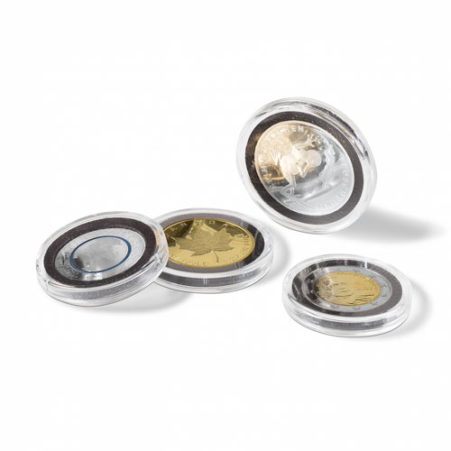 LEUCHTTURM Capsulas para monedas 26 mm. ULTRA INTERCEPT (10)
