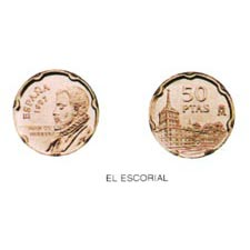 50 Pesetas. (1997) Madrid - (EL ESCORIAL) SC