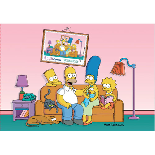 5352 HB Series de televisión. The Simpsons. Los Simpson