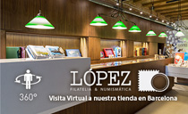 Visita virtual a Filatelia L�pez