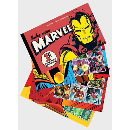 Comics Gran Bretaña 2019 Marvel. Prestige Stamp Book.