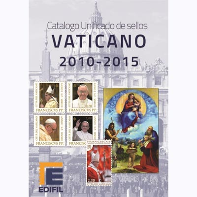 EDIFIL Catalogo unificado sellos Vaticano 2010-2015.