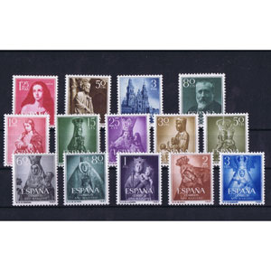 Stamps spain 1954