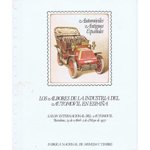 1977 Documento 1 Salón Internacional del Automovil.