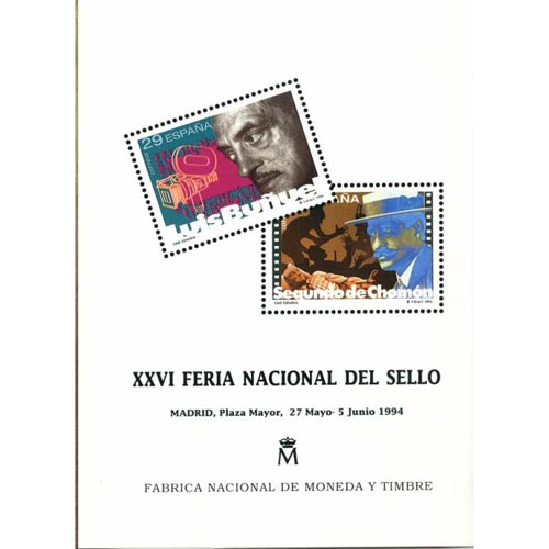 1994 Documento 32 XXVI Feria Nacional del Sello.
