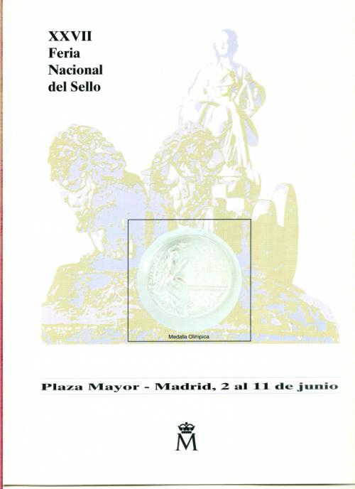 1995 Documento 35 XXVII Feria Nacional del Sello.