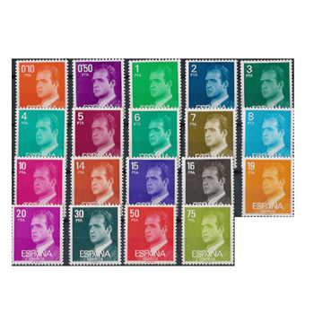 spain stamps, samples