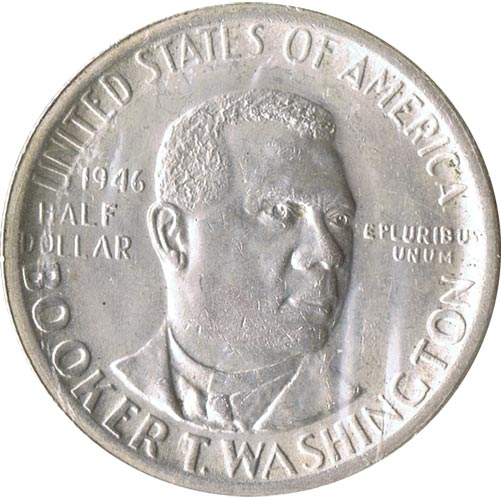 Moneda de plata 1/2 $ Estados Unidos Washington 1946 S.