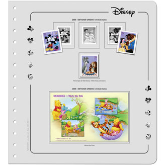 Walt Disney thematic stamps