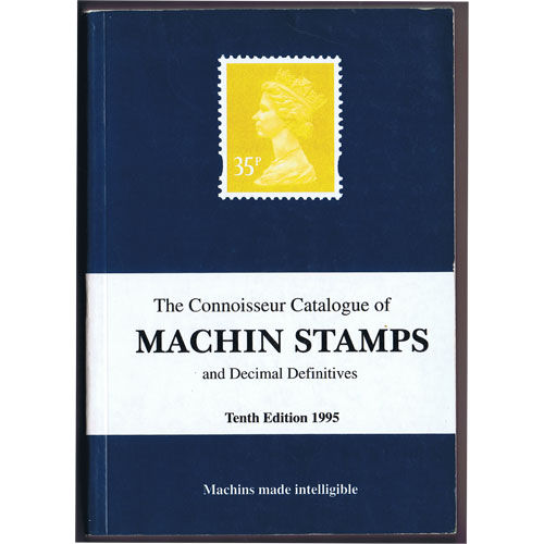 Catálogo de sellos Machin Stamps and Decimal Definitives.