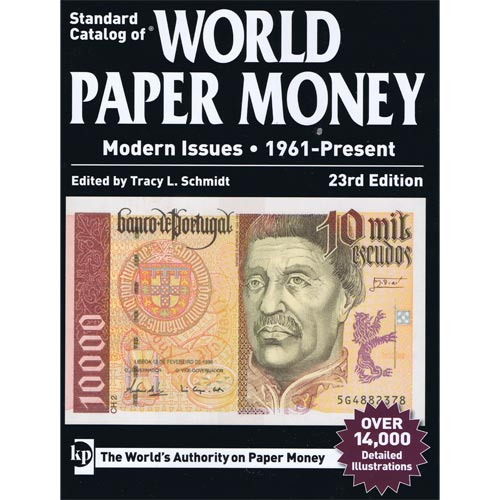 Catalogo billetes mundial WORLD PAPER desde 1961. Edicion 23.