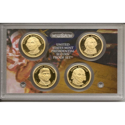 E.E.U.U. 1$ (2007) Presidencial proof set