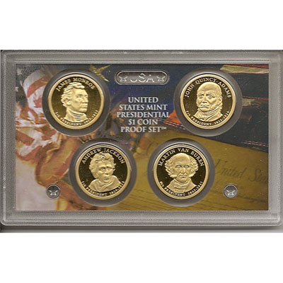 E.E.U.U. 1$ (2008) Presidencial proof set