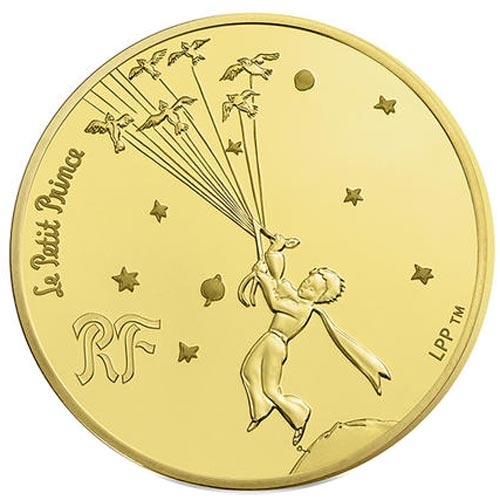 Francia 200� 2015 Principito. The Little Prince. Oro.
