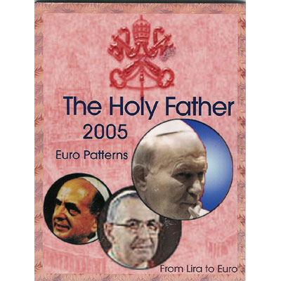 Serie Euro prueba Vaticano THE HOLY FATHER 2005