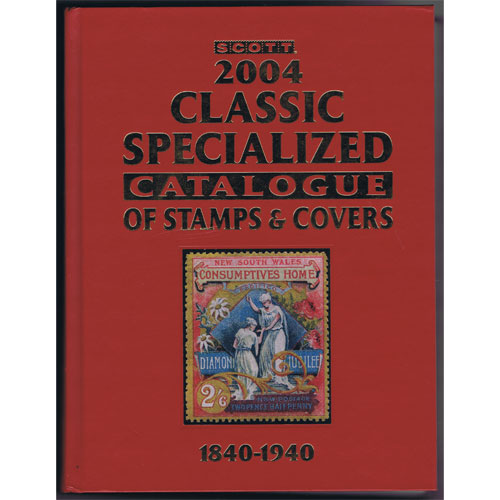 Scott Classic Specialized of Stamps y Covers 1840-1940.